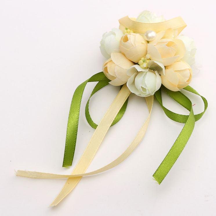rametto fiori per corpetto