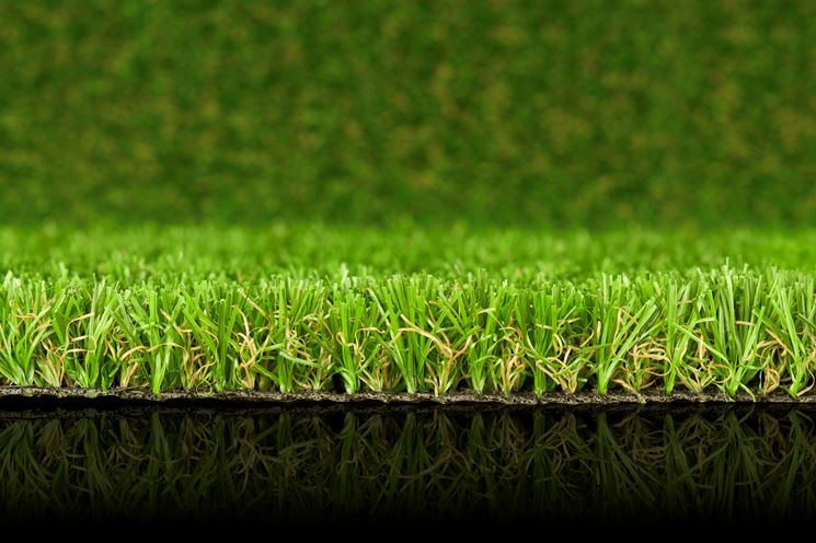 Piante finte da esterno piante finte piante - Erba sintetica da giardino ...