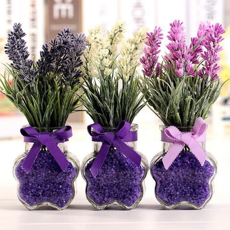 Vasi con fiori finti - Piante Finte - Fiori finti in vaso