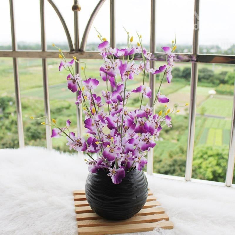 Vasi con fiori finti piante finte for Acquisto piante