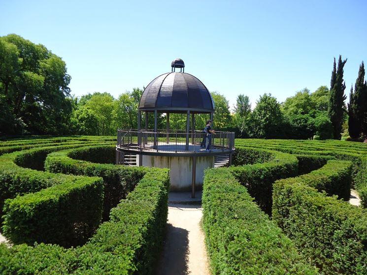 il labirinto del parco