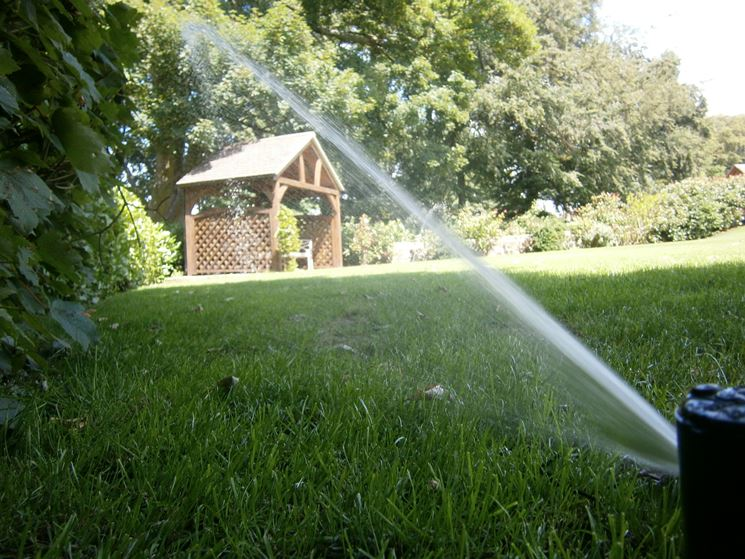 Progettare un impianto d^irrigazione