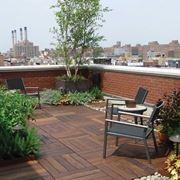 giardino su terrazzo