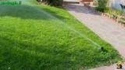 Irrigazione del giardino