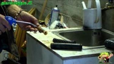 Manutenzione dell^impianto di irrigazione